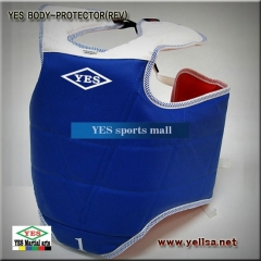 YES양면호구/순수 국산/YES BODY PROTECTOR/REV/몸통/태권도/합기도